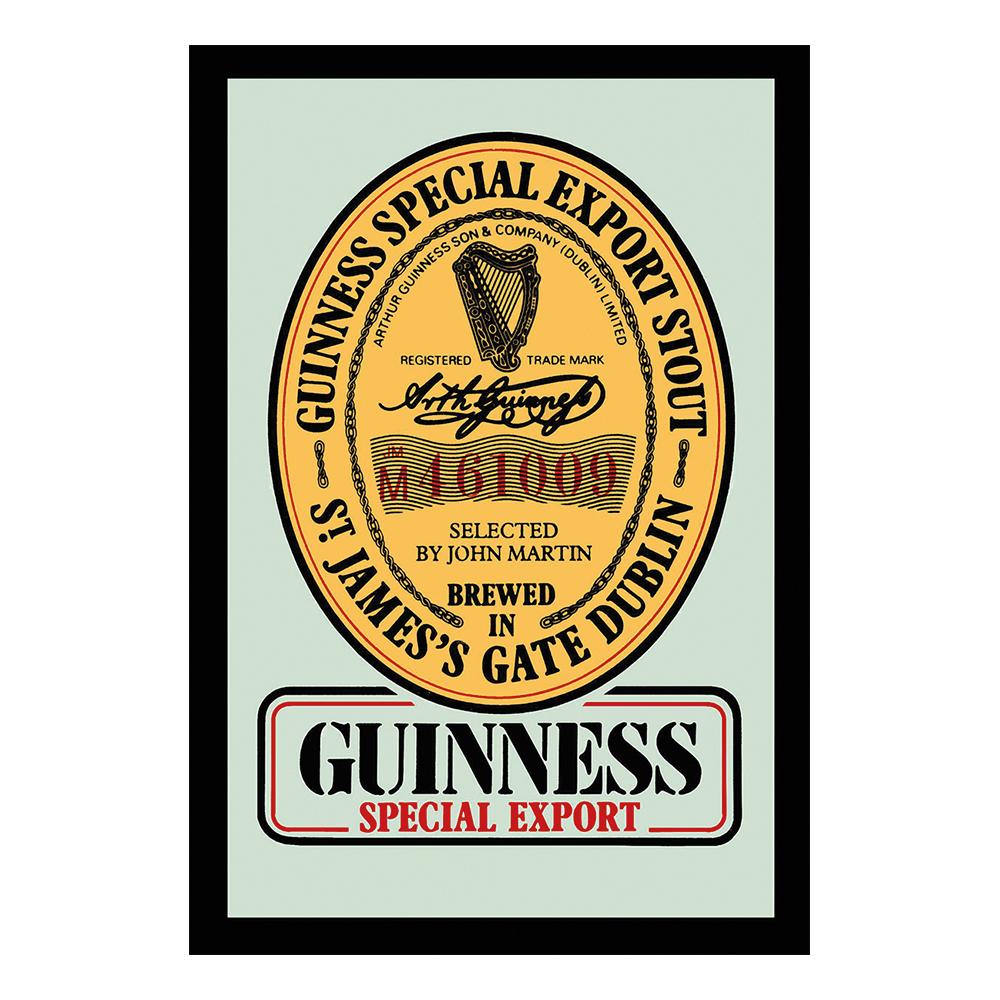 Barspegel Guinness