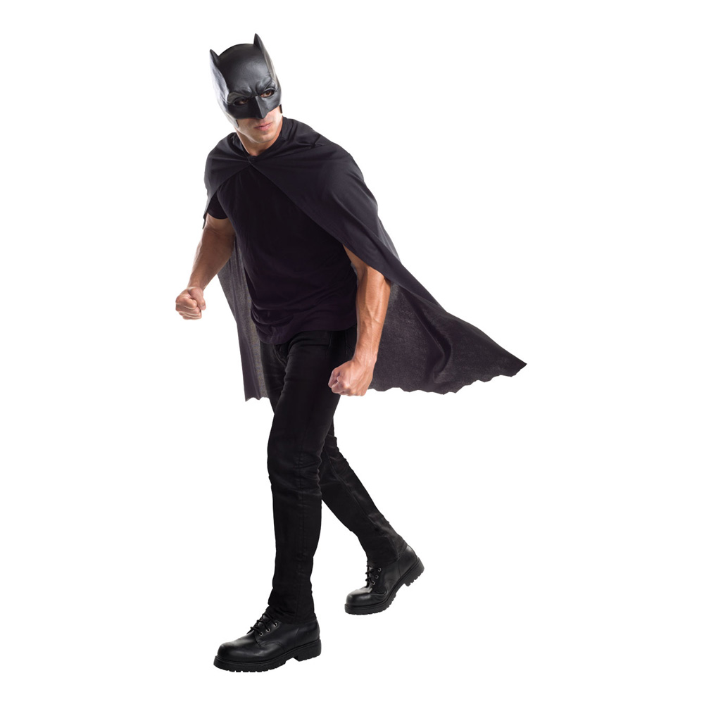 Batman Cape med Mask - One size