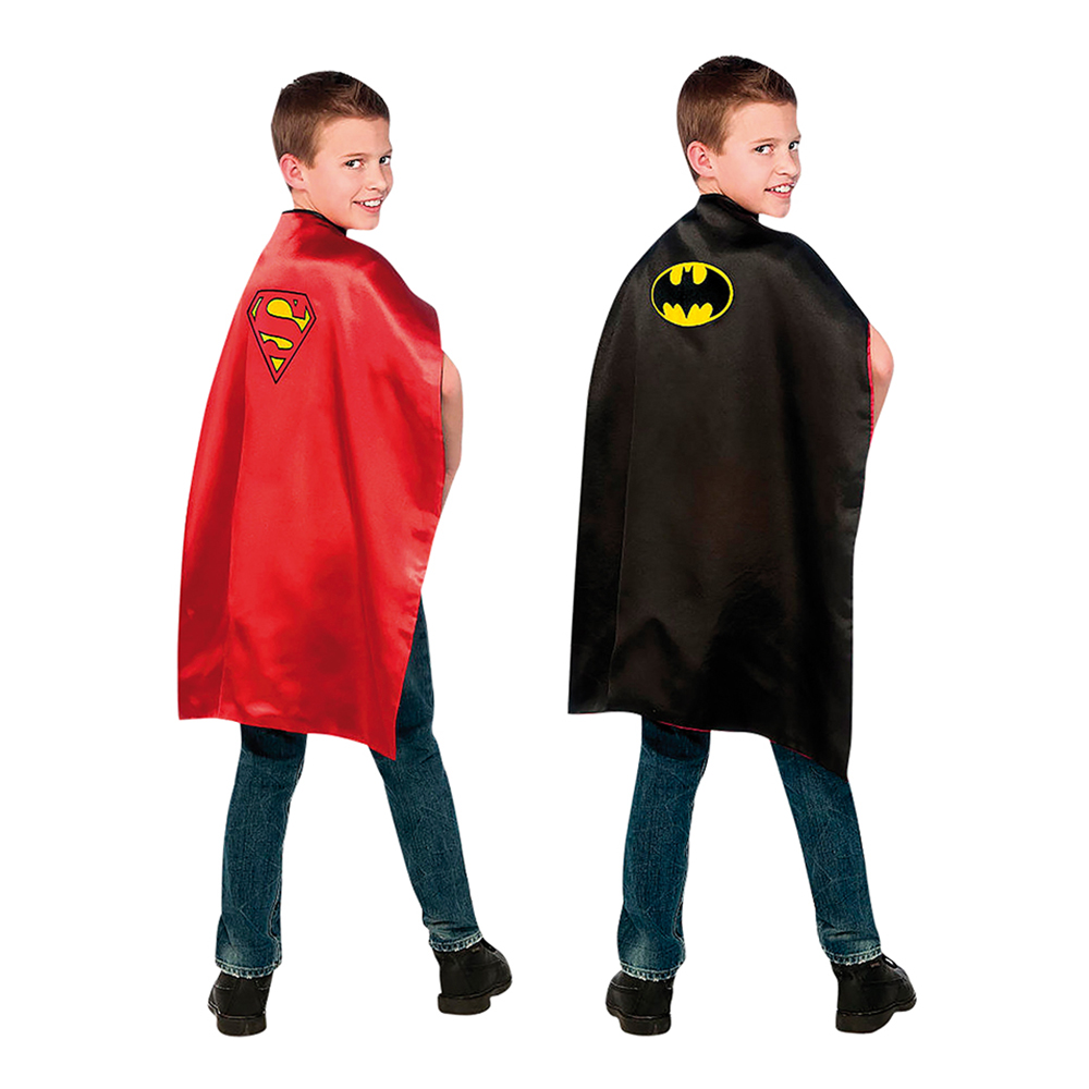 Batman/Superman Cape Barn - One size