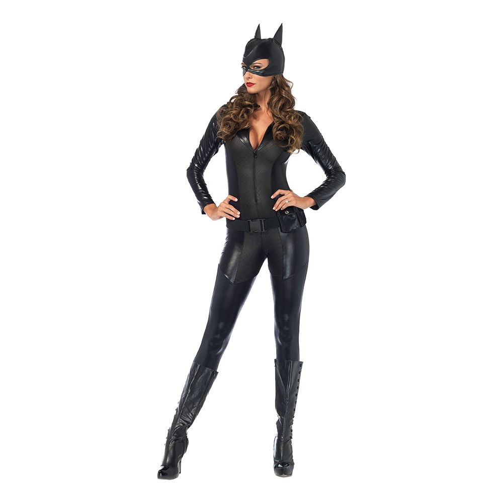 Batwoman Deluxe Maskeraddräkt - Small