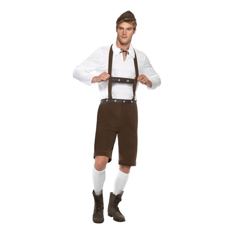 Bavarian Maskeraddräkt - Medium