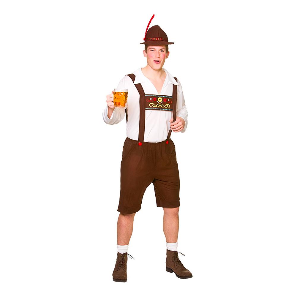 Bavarisk Ölkille Maskeraddräkt - Large