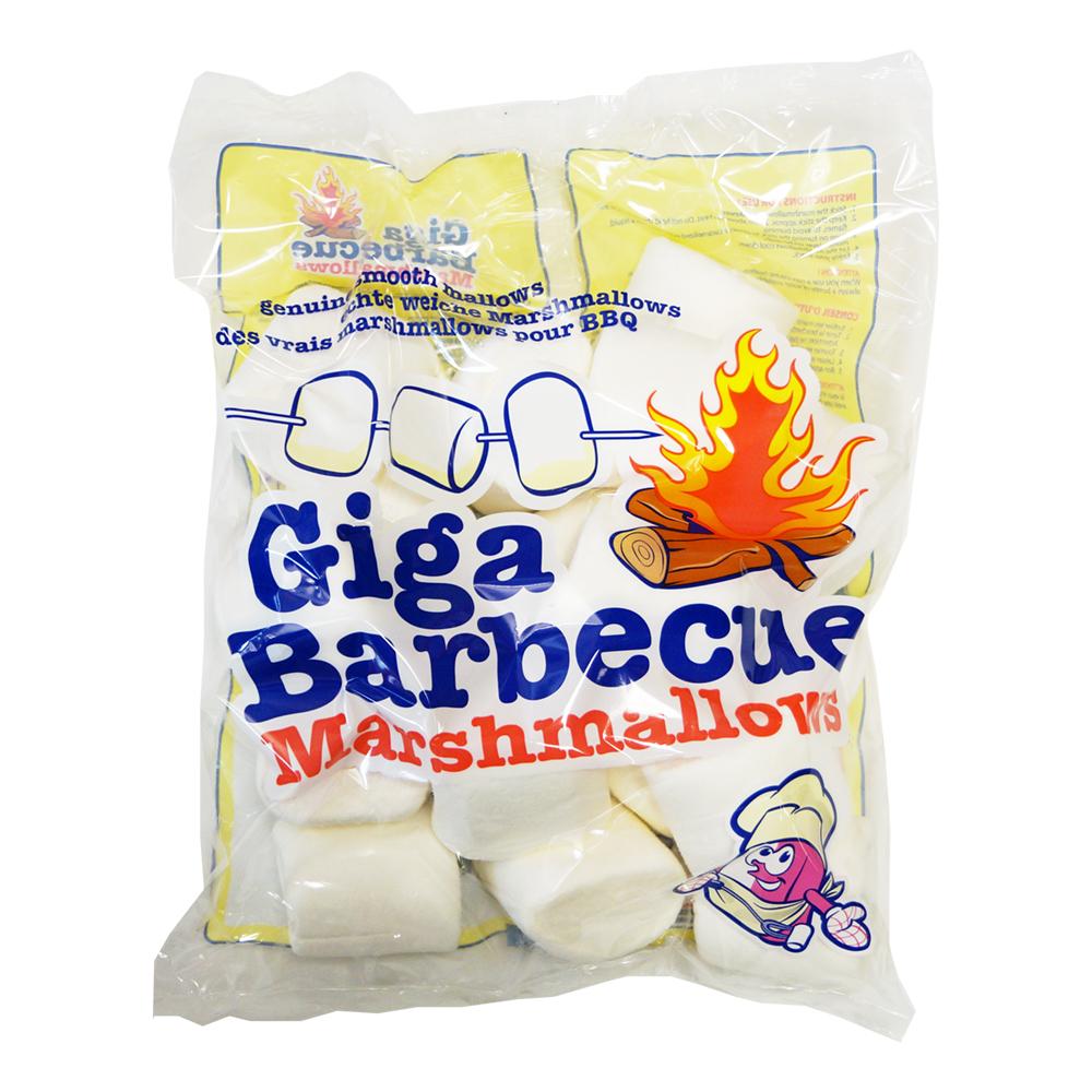 BBQ Giga Marshmallows - 400 gram
