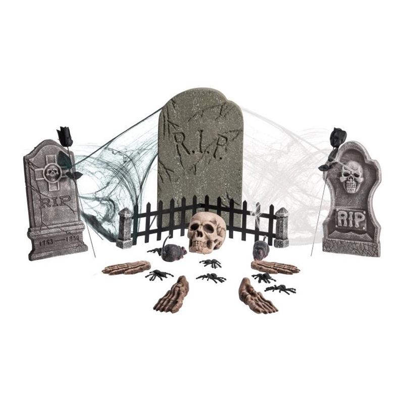 Begravningsplats Dekorationskit