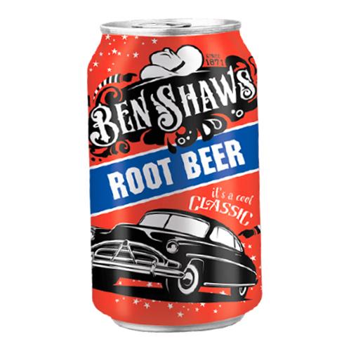 Ben Shaw Root Beer - 24-pack