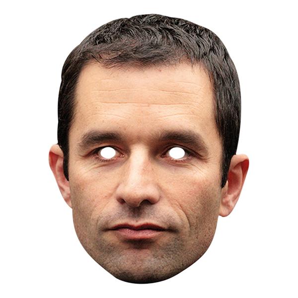 Benoit Hamon Pappmask