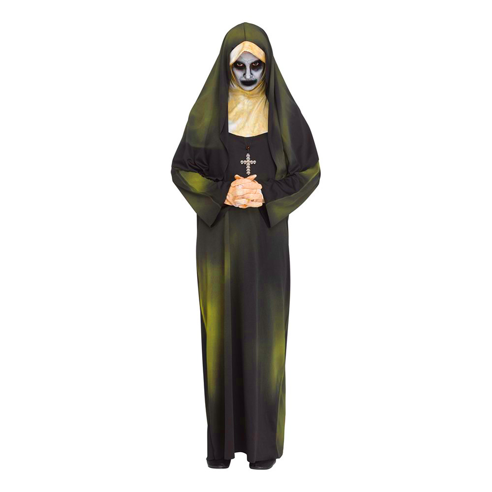 Besatt Nunna Maskeraddräkt - One size