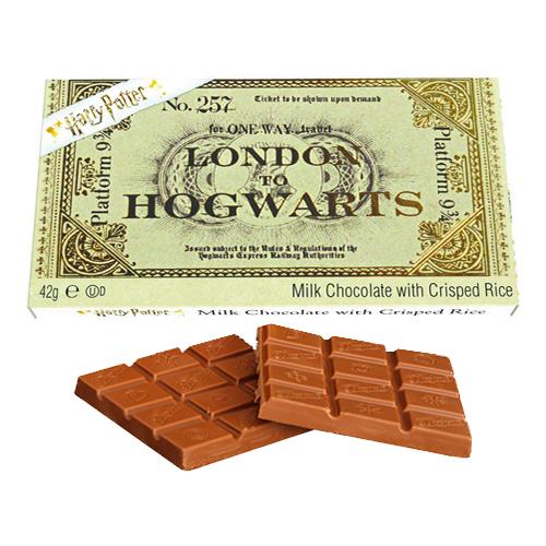 Biljett till Hogwarts Chokladkaka