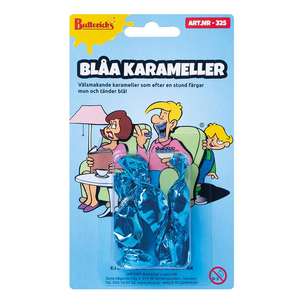 Blåa Karameller Skämtartikel