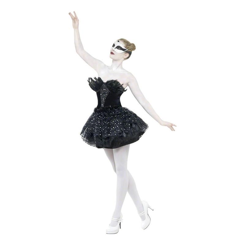 Black Swan Ballerina Maskeraddräkt - Medium