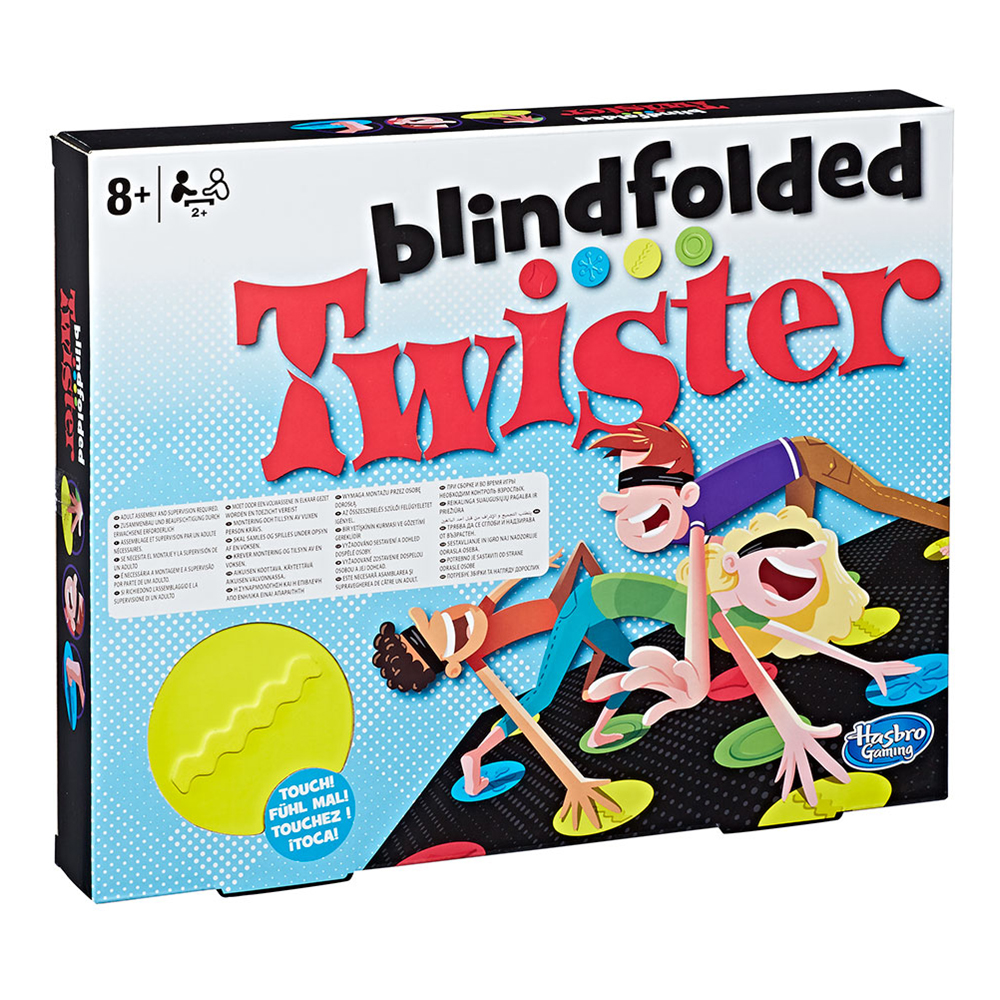 Blindfolded Twister Sällskapsspel