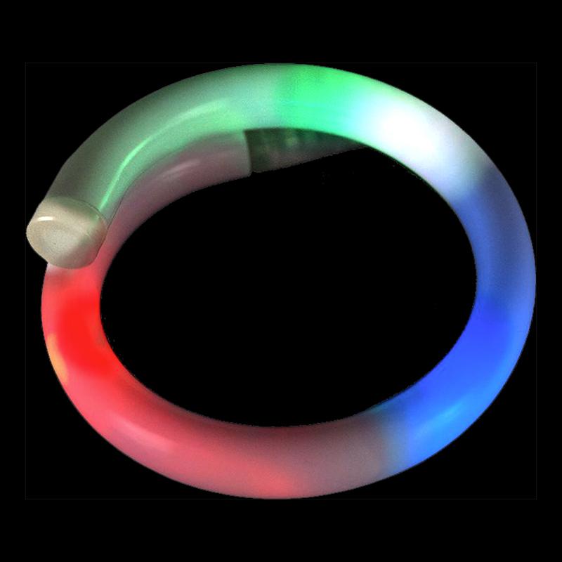 Blinkande LED Flexibelt Armband - 1-pack