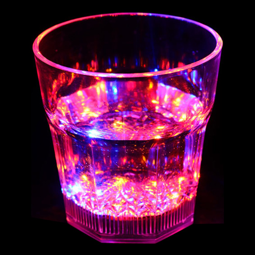 LED Blinkande Whiskyglas