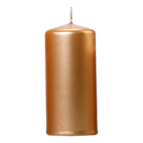 Blockljus Metallic Guld - 6-pack