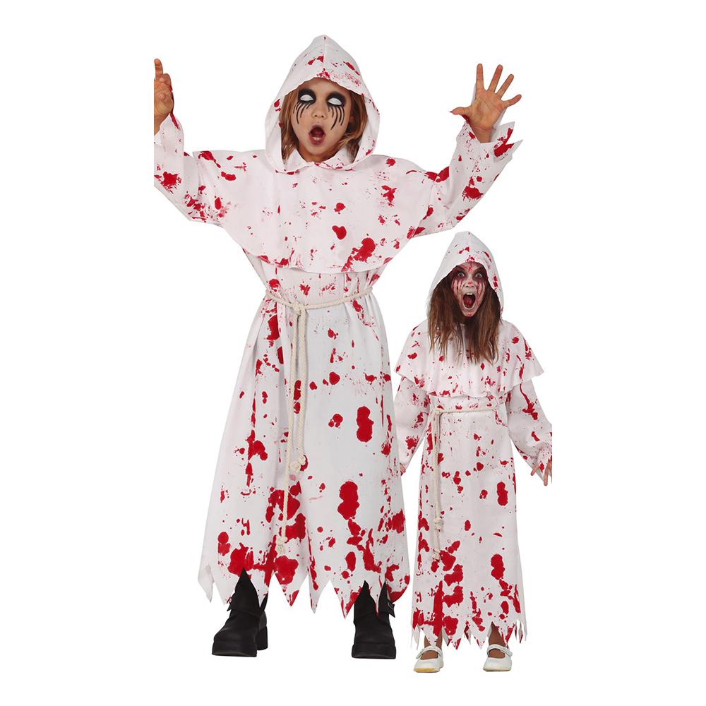 Blodig Nunna Barn Maskeraddräkt - Medium