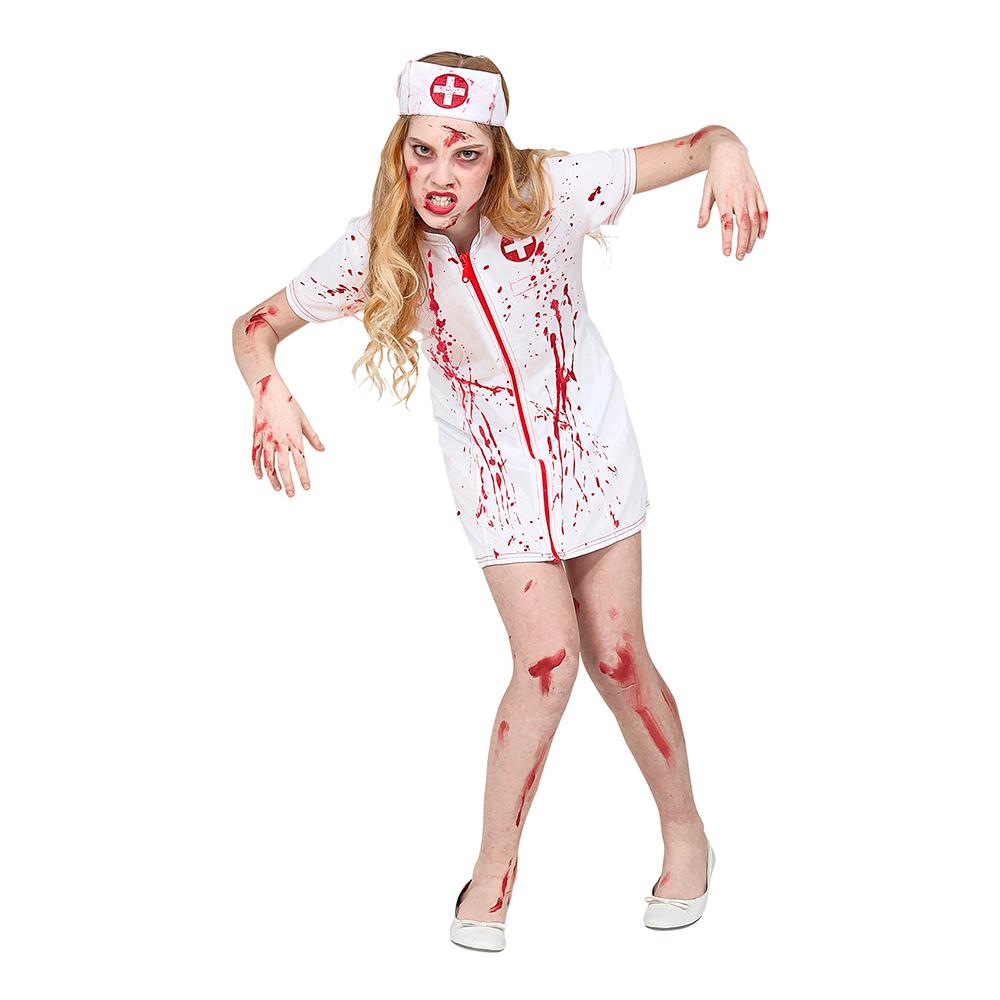 Blodig Sjuksköterska Barn Maskeraddräkt - Medium