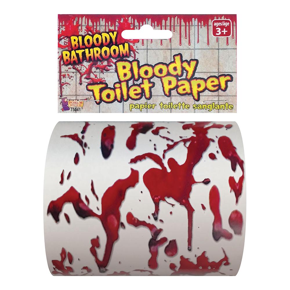 Blodigt Toalettpapper