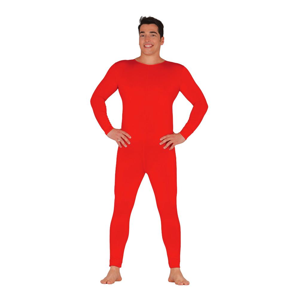 Bodysuit för Män Röd - One size