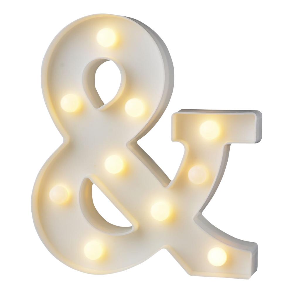 Bokstav med LED-Belysning - Tecken &