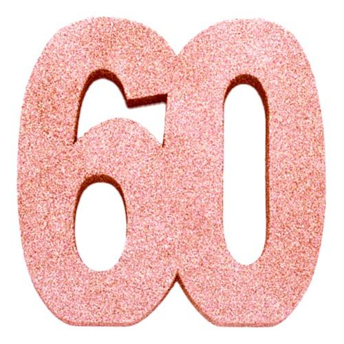 Bordsdekoration Siffra Roséguld - Siffra 60