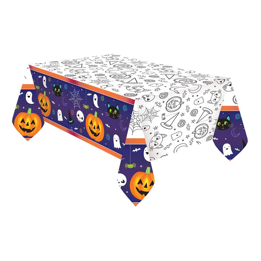 Bordsduk Halloween Flerfärgad