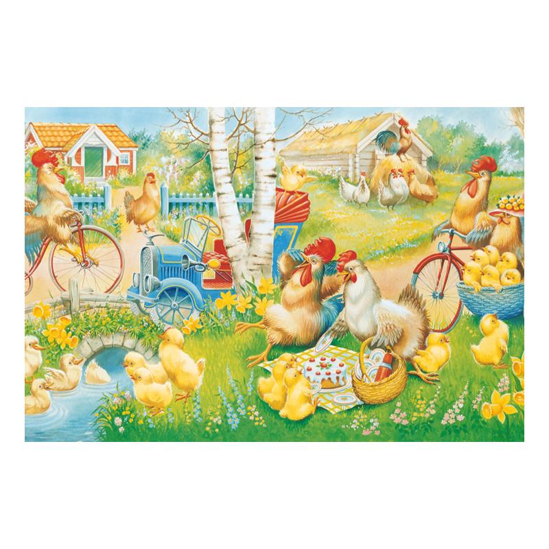 Bordstablett Påsk Picknick