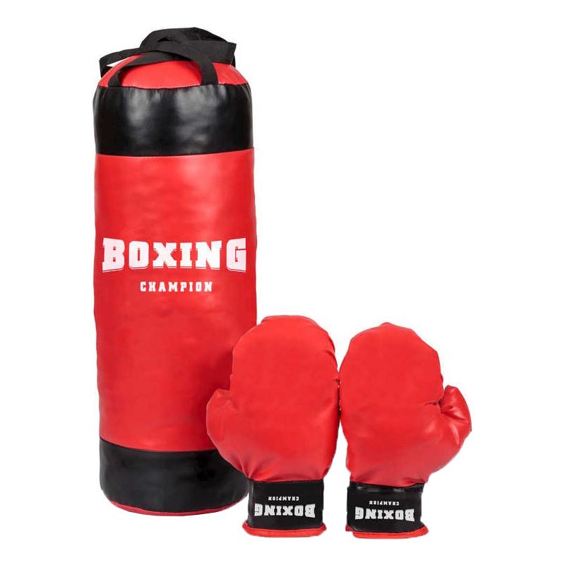 Boxningssäck med Handskar