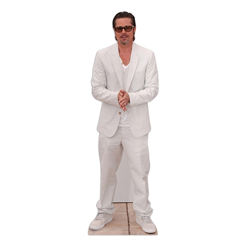 Brad Pitt Kartongfigur