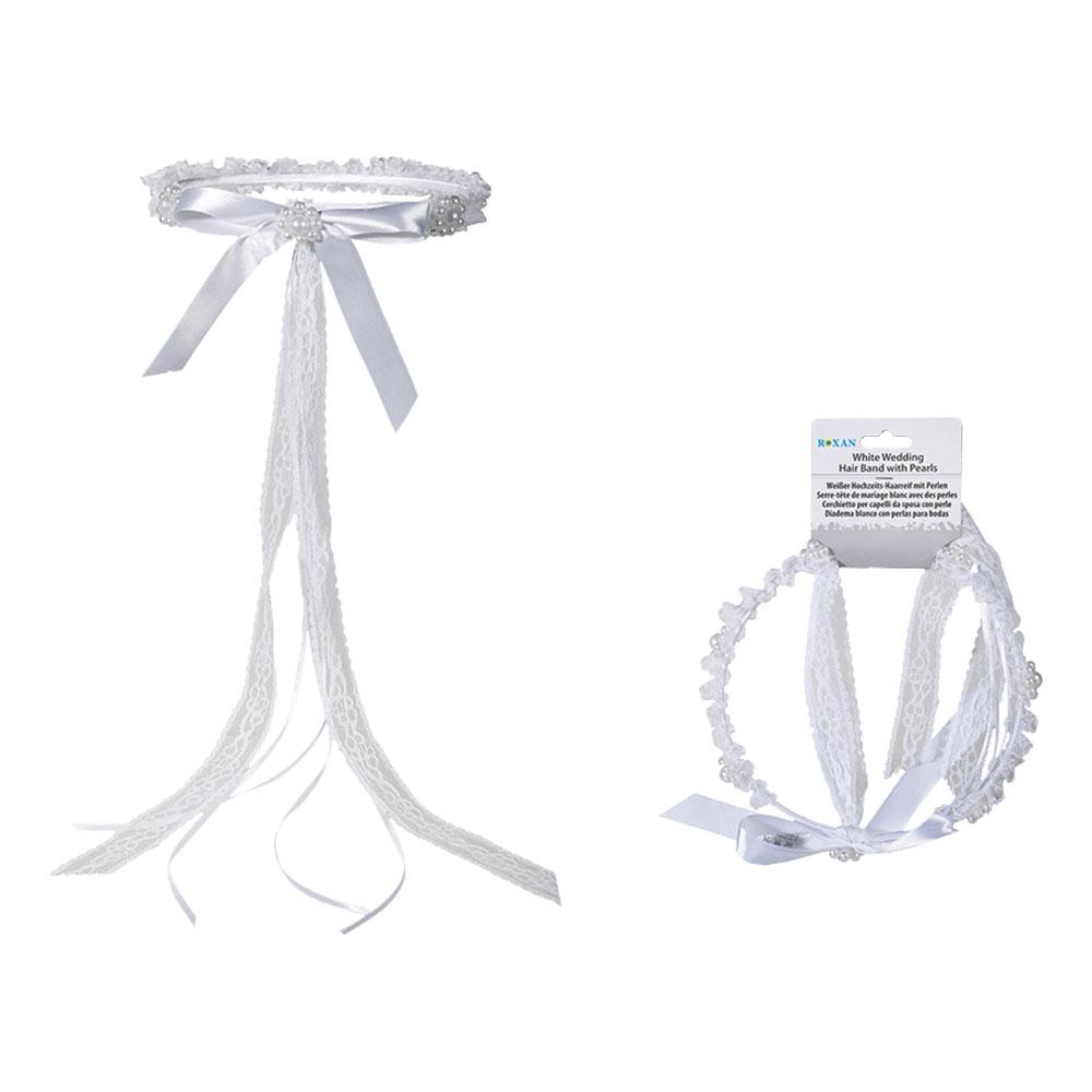Bröllopshårband med Pärlor - One size