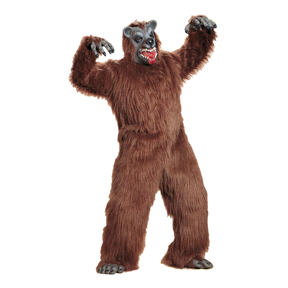 Brunbjörn Maskot Maskeraddräkt - One size