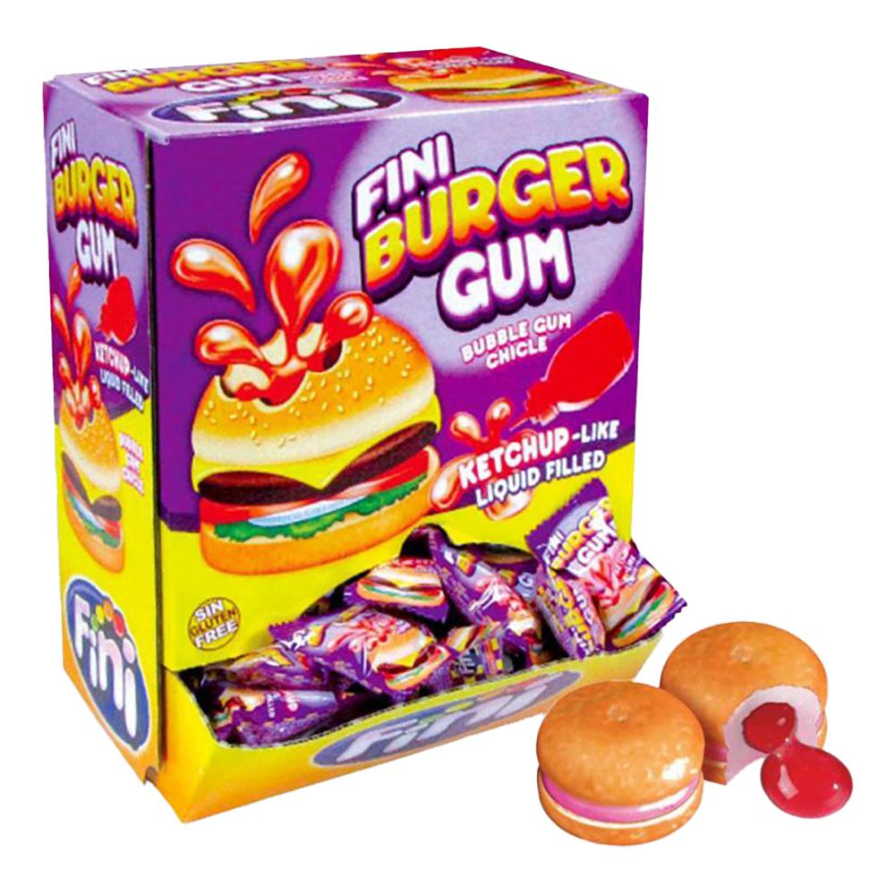 Burger Bubble Gum - 200-pack