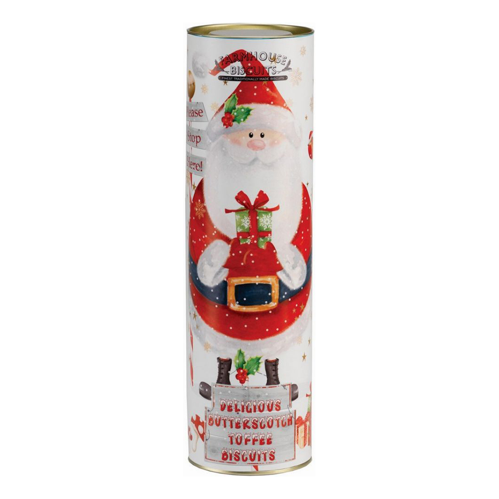 Butter Toffee Biscuits Jultomte
