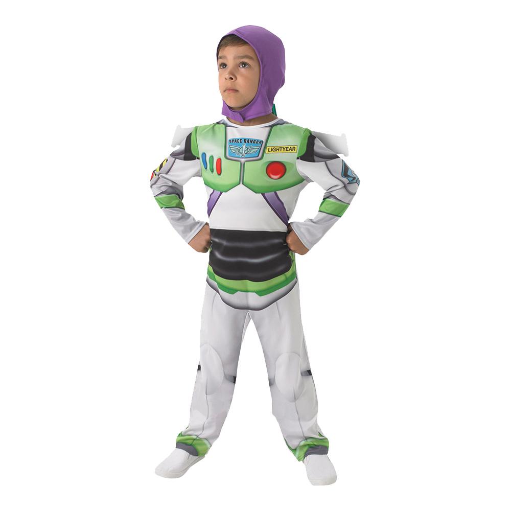 Utklädningsdräkter - Buzz Lightyear Budget Barn Maskeraddräkt - Small