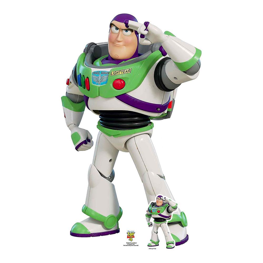 Buzz Lightyear Toy Story 4 Kartongfigur