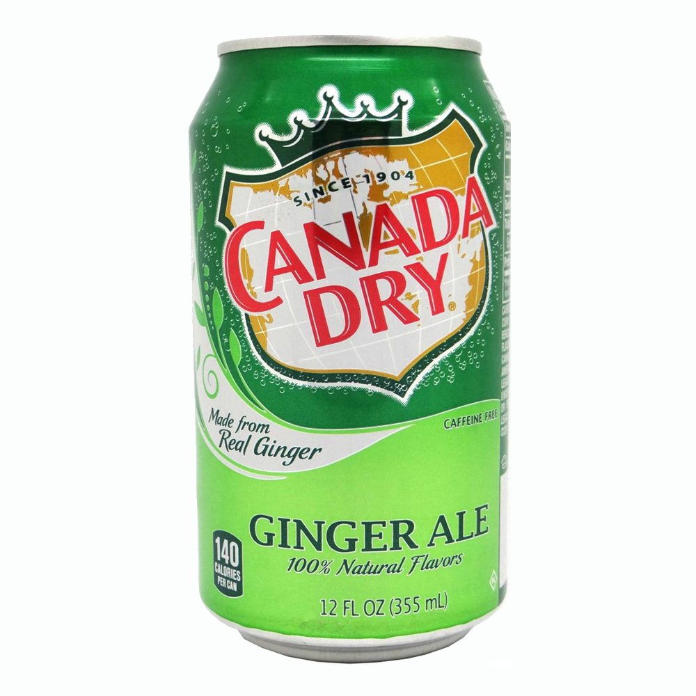 Canada Dry Ginger Ale - 24-pack