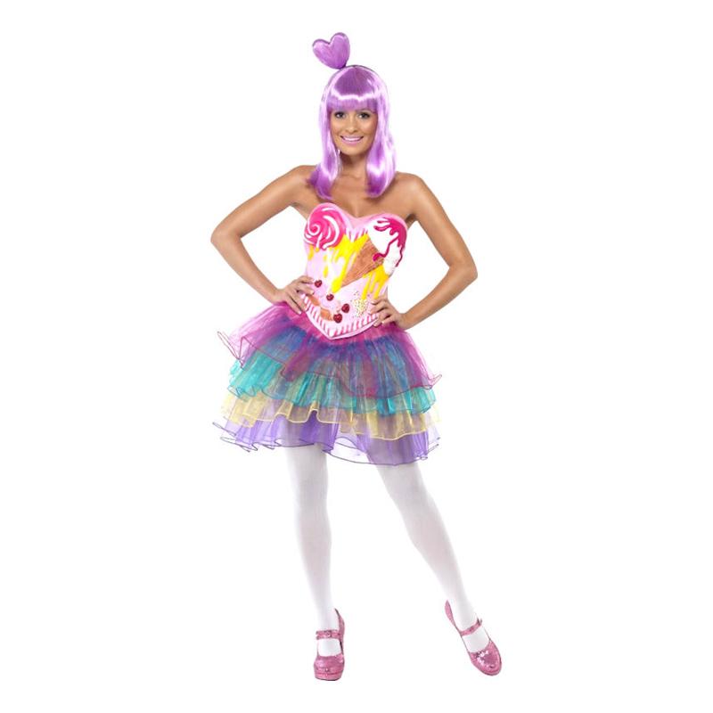 Candy Queen Maskeraddräkt - X-Small