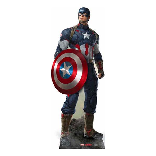 Captain America Kartonfigur