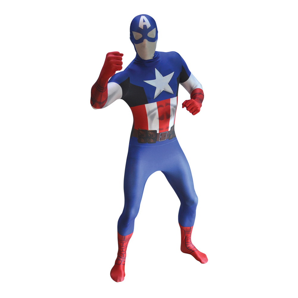 Captain America Morphsuit - Large