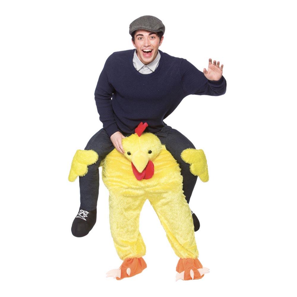Carry Me Kyckling Maskeraddräkt - One size