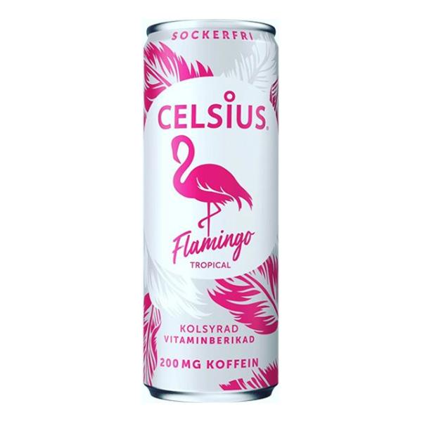 Celsius Flamingo - 24-pack