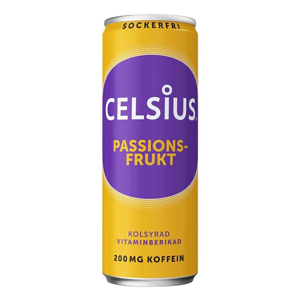 Celsius Passionsfrukt - 24-pack
