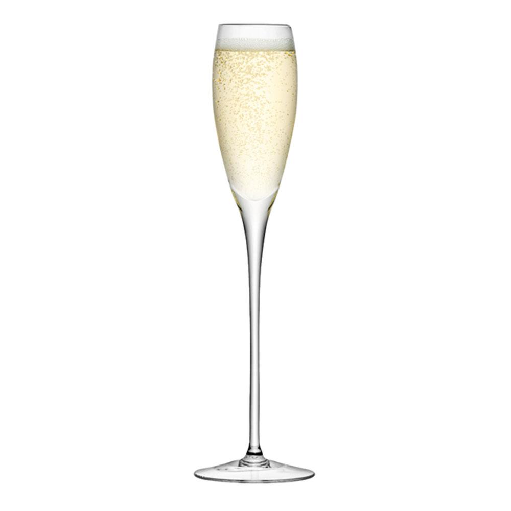 Champagneglas Avlånga - 4-pack