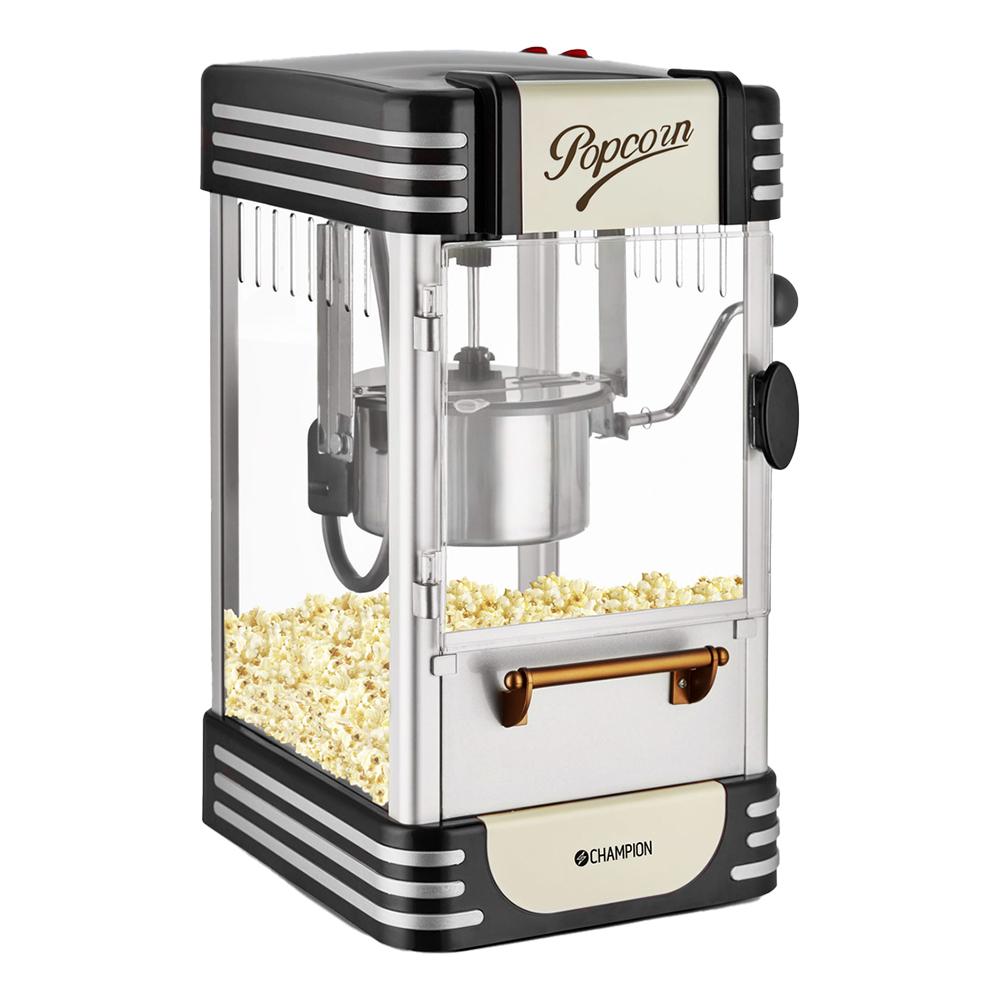 Champion Popcornmaskin Retro - Svart