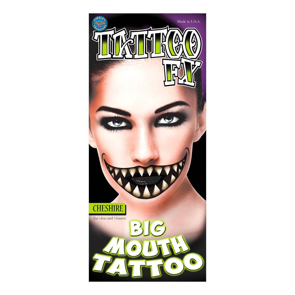 Cheshire Big Mouth Tatuering FX