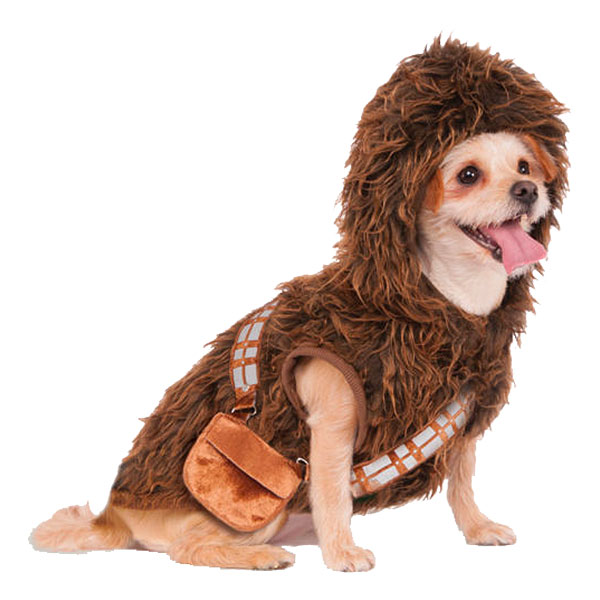 Chewbacca Hund Maskeraddräkt - Small