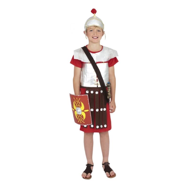 Romersk Soldat Barn Maskeraddräkt - Medium