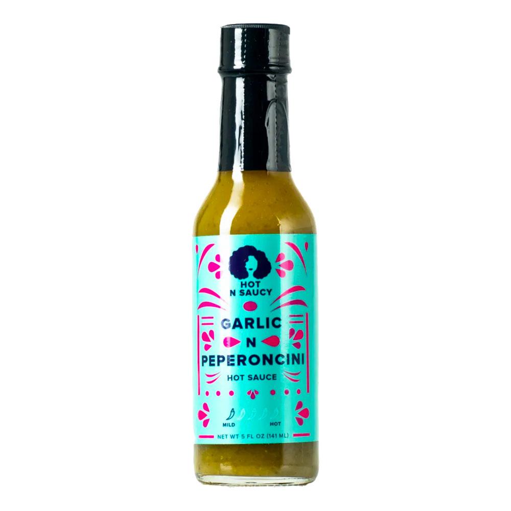 Hot n Saucy Garlic N Peperoncini Hot Sauce - 148 ml