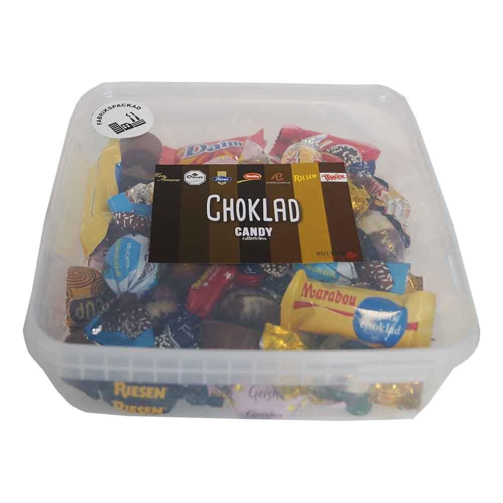 Lösgodis i Burk Choklad - 550 gram