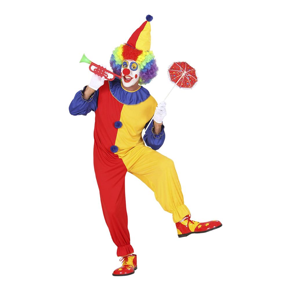 Clown Maskeraddräkt - Large