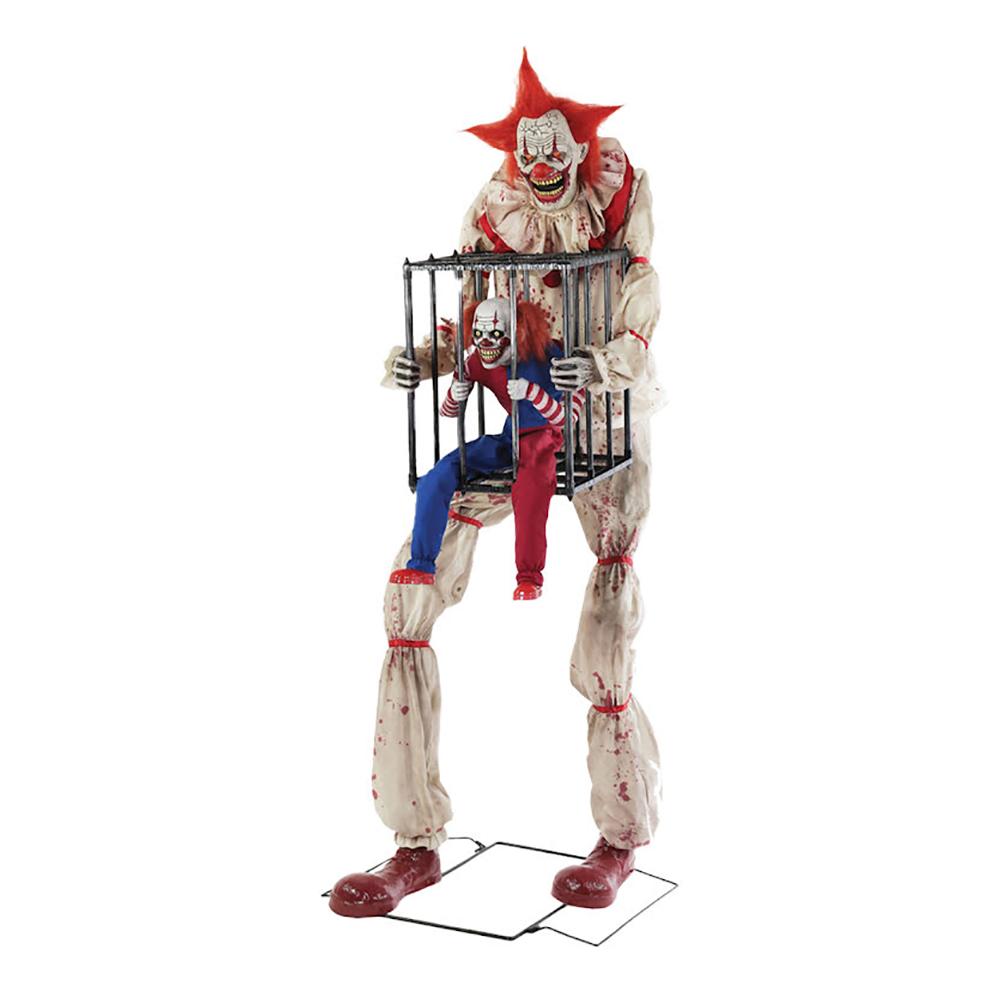 Clown med clown i Bur Prop